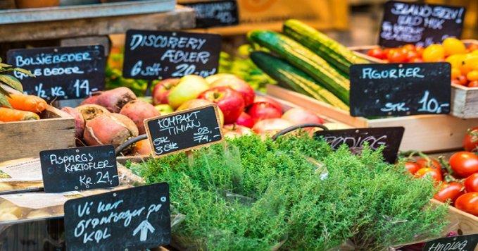 Denmark organic produce